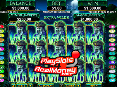 Ghost Ship Slot Machine - Play the RTG Casino Game for Free