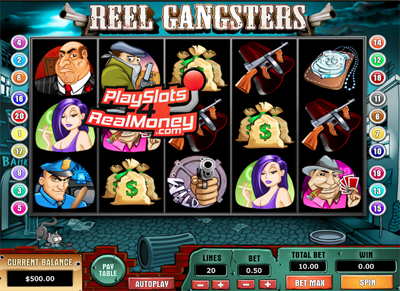 Reel Gangsters Slots Reviews At Top Game Casinos