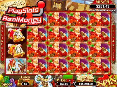 The Naughty List Slot - Play for Free Instantly Online