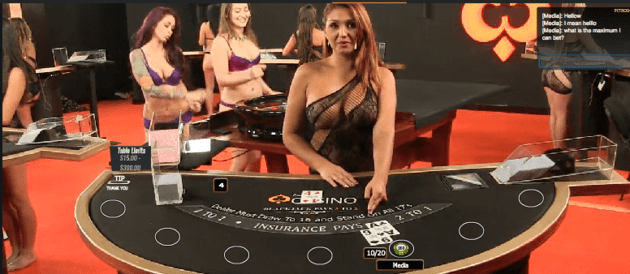 online casino dealer szizling hot
