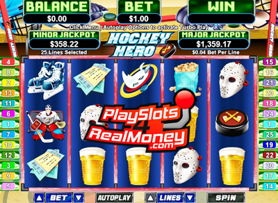 Hockey Heroes Slots - Try it Online for Free or Real Money