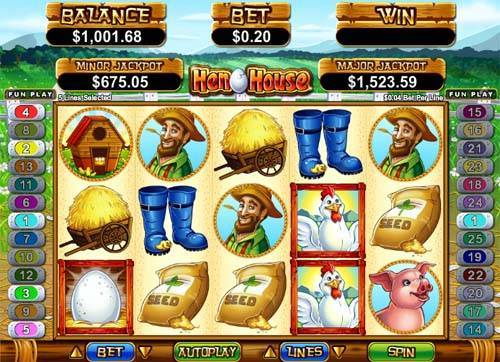 Hen House™ Slot Machine Game to Play Free in Realtime Gamings Online Casinos
