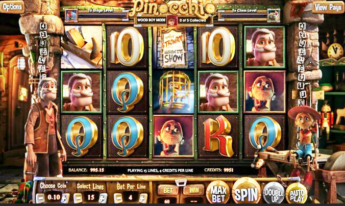Pinocchio Online Slots for Real Money - Rizk Casino