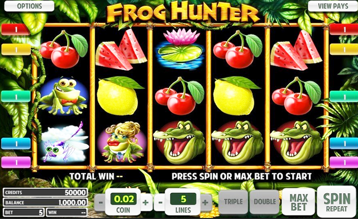 Frog Hunter Slot - Play Betsoft Casino Games Online