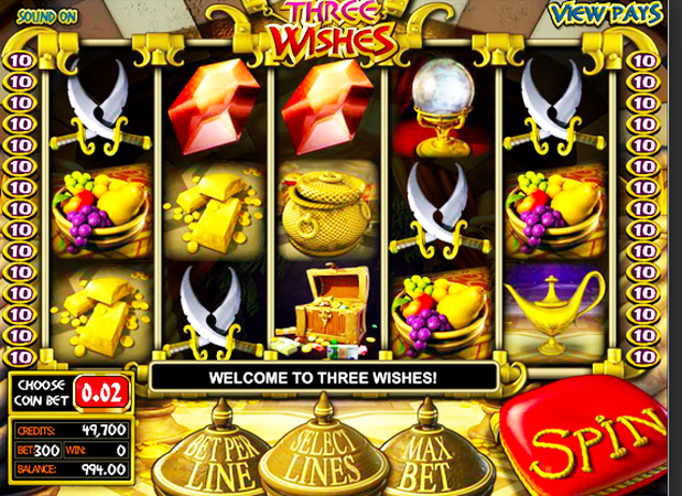 Genies Touch Slot Machine Review & Free Instant Play Game