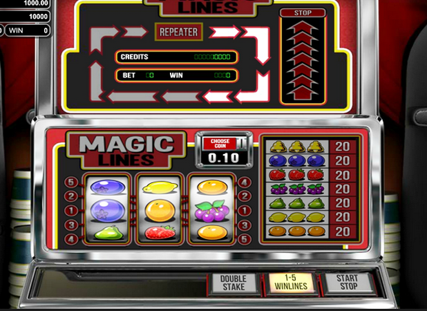 Magic Lines Slots - Read the Review and Play for Free