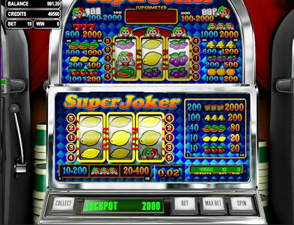 Random Joker Slot Machine - Play the Free Casino Game Online