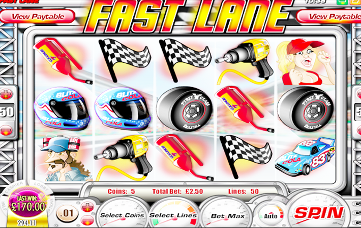 Fast Lane Slot - Win Big Playing Online Casino Games
