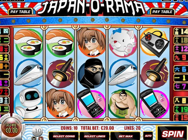 Japan O Rama Slots Free Play & Real Money Casinos