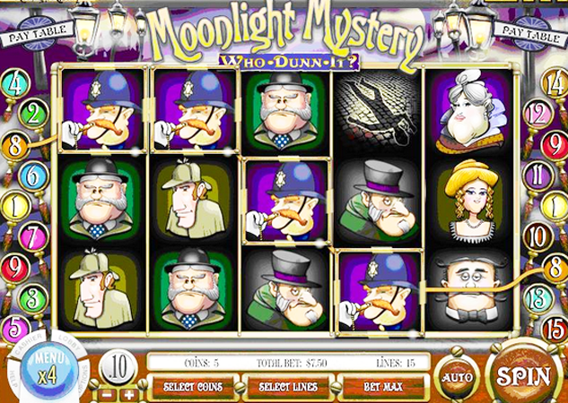 Moonlight Mystery™ Slot Machine Game to Play Free in Rivals Online Casinos