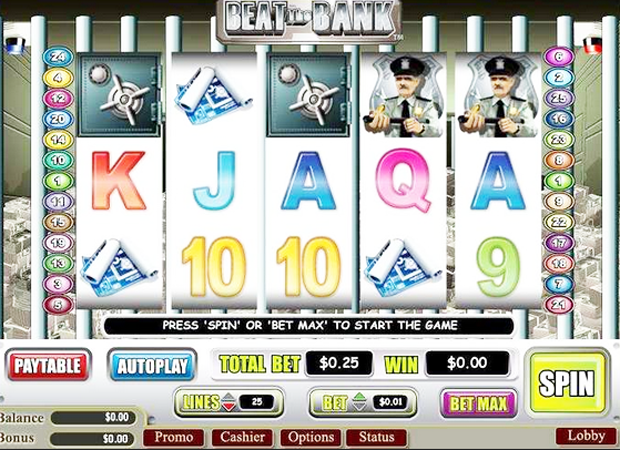 Beat the Bank™ Slot Machine Game to Play Free in PartyGamings Online Casinos