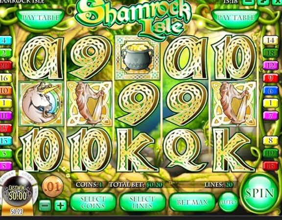 Shamrock Isle Slots Free Play & Real Money Casinos