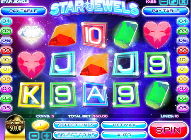 Star Jewels Slot Machine Online ᐈ Rival™ Casino Slots