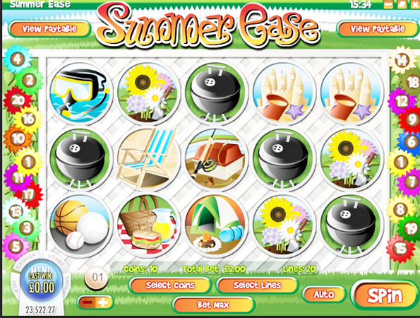 Summer Ease™ Slot Machine Game to Play Free in Rivals Online Casinos