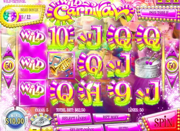 Wild in Rio Slot Machine - Available Online for Free or Real