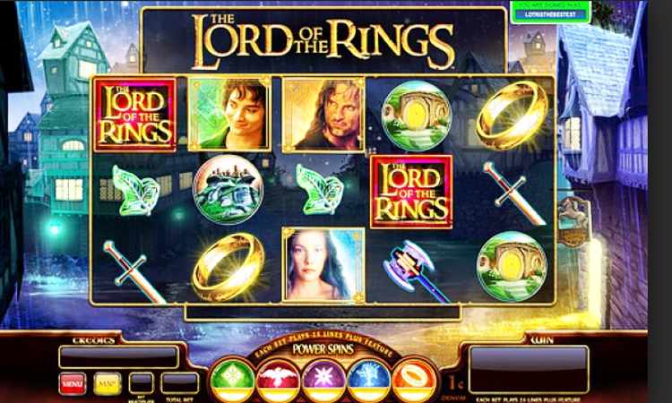 The Lord of the Rings Slot Machine - Play Free Microgaming ...
