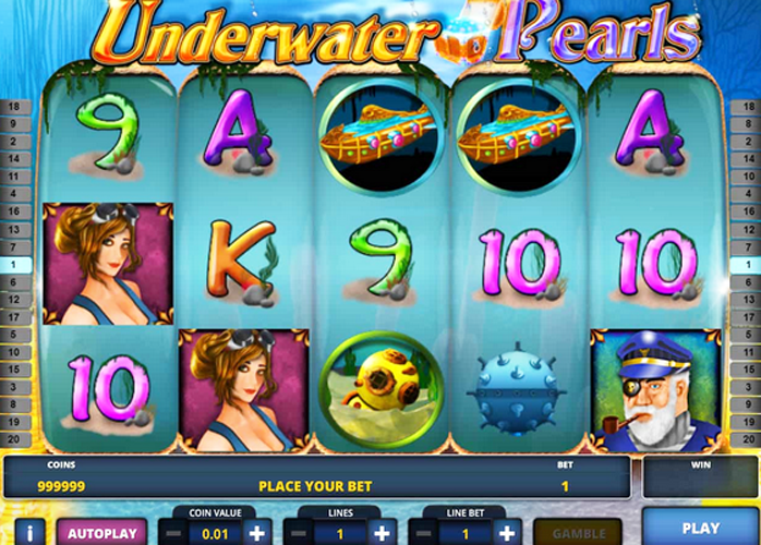 Sea Underwater Club Slot - Play for Free or Real Money