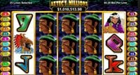 Can I Play Aztec Millions Progressive Slots For Real Money At Las Vegas USA Casino?