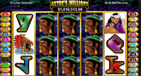 Play Aztec Millions Slots For Real Money At