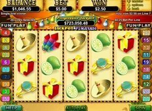 Jackpot Pinatas Progressive Slots