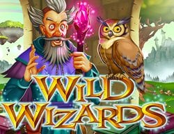 Real Time Gaming Releases Wild Wizards Online Slot Machine