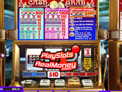 Cash Grab Mobile Slots Review At Miami Club Casino