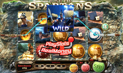 Rise of Spartans Slots - Play Online or on Mobile Now