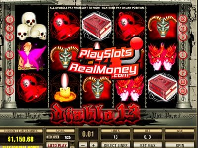 Diablo 13 Slot Review At Topgame Casinos