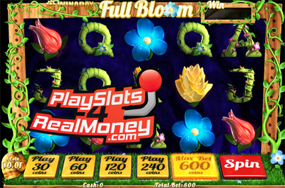 Full Bloom 3D Online Slots Review At Win A Day Casino
