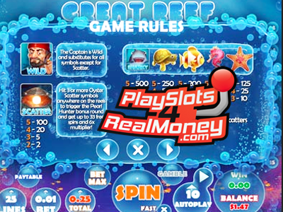 Great Reef Slots Reviews At Top Game Casinos