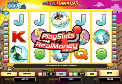 Spin The Wheels Playing Cool Bananas Slots Free At Red Stag Mobile Casino