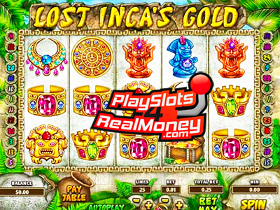 Lost Incas Gold Slots Reviews At Top Game Casinos