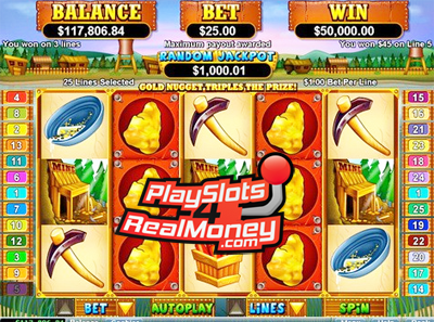 PayDirt Online Slots Reviews At Real Time Gaming Casinos