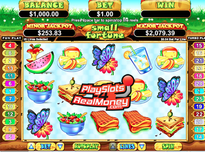 Small Fortune Slots Reviews At Real Time Gaming Casinos