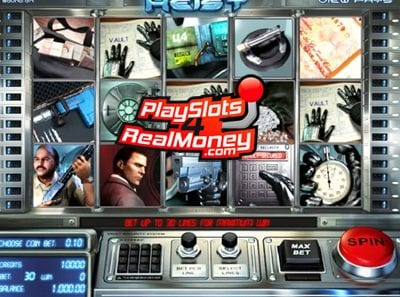 Heist Slots Review at BetSoft Casinos
