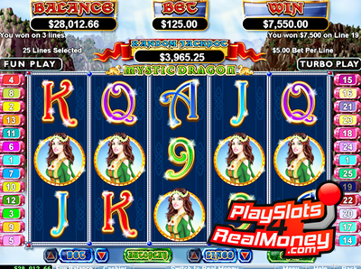 Mystic Dragon Video Slot Game Reviews At USA Online Casinos