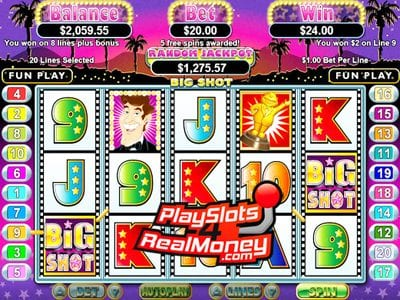 Big Shot Progressive Jackpot Slot Reviews