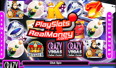 Crazy Vegas Progressive Jackpot Slots Review