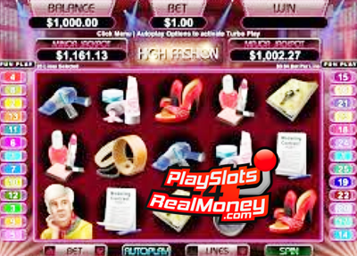 High Fashion slots review