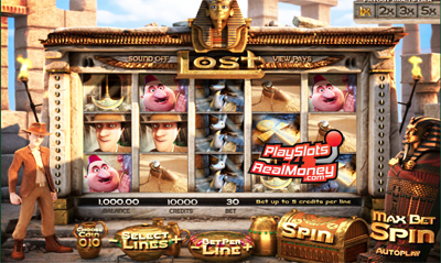 Lost Slot Machine - Play the BetSoft Casino Game for Free