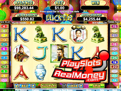 Lucky 8 Slot Review & Bonuses | USA Realtime Gaming Casino
