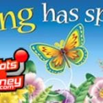 Spring has Sprung so Start Spinning the Reels at USA Online Casinos with Your Free Spins