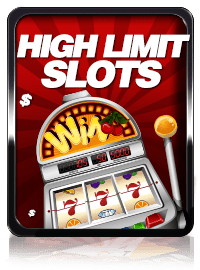 High Limit Online Slots Gamblers Search For The Biggest Progressive Jackpots