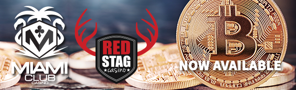 Miami Club & Red Stag USA Casinos Add Bitcoin Payment Options
