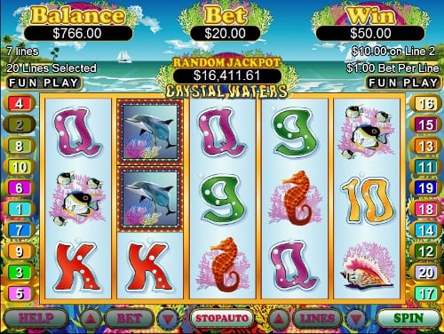 Spiele Crystal Waters - Video Slots Online
