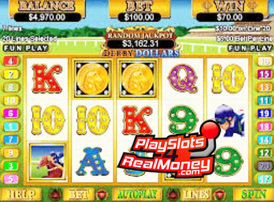 Derby Dollars™ Slot Machine Game to Play Free in Realtime Gamings Online Casinos