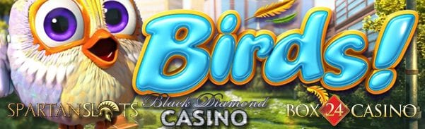 BetSoft Casino News: Birds 3D Online Slot Machine Released
