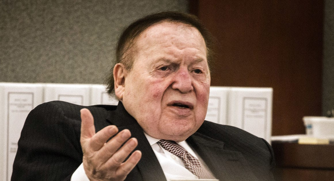 Sheldon Adelson Threatens to Quit Deal to Construct Stadium for Oakland Raiders