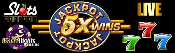Jackpot Five Times Wins Slots Is Live At USA Rival Casinos Online