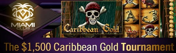 Miami Club Vegas Casino Offers $1500 Caribbean Gold Android Slots Tournament